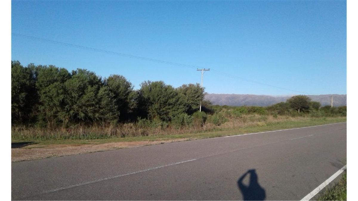 campo 145ha sobre ruta 6 en villa larca san luis