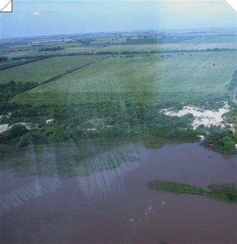 campo agrícola/turístico, 18 hectáreas sobre el río de la plata