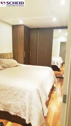 campo belo: condomínio fascination: apartamento duplex mobiliado com 165 m² com 3 suítes, 2 vagas - mc3856