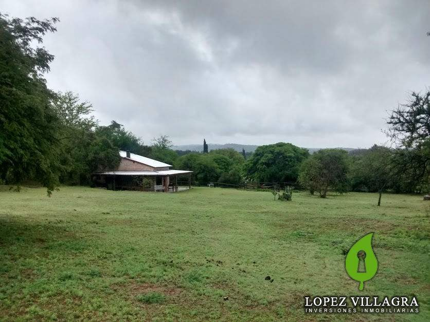 campo con casa tipo loft en venta  unquillo  sierras de córdoba