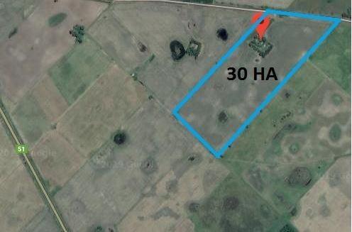 campo de 30 ha   casco - 25 de mayo