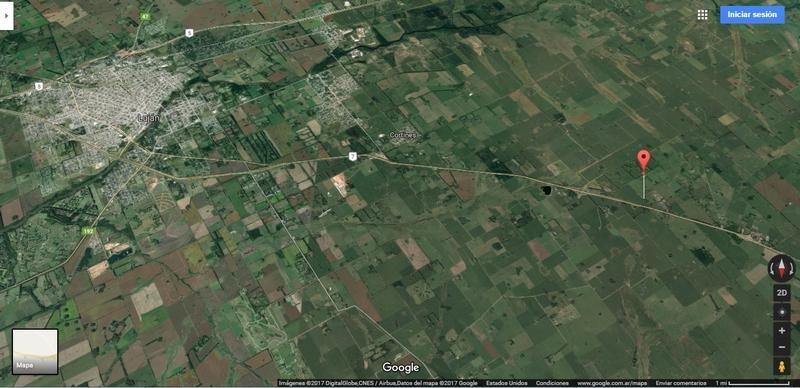 campo de 8 ha a 10 min del centro de lujan sobre la ruta