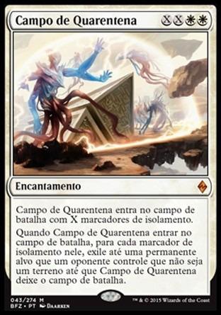 campo de quarentena / quarantine field - battle for zendikar