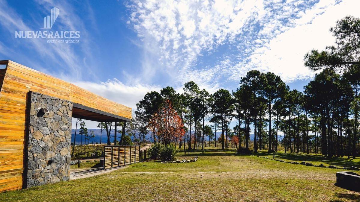 campo del libertador yacanto - lotes de 2000m2 posesion inmediata barrio cerrado