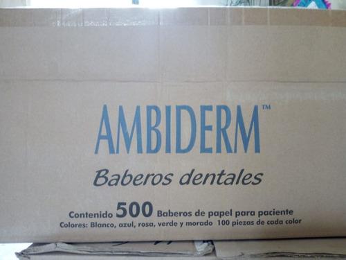 campo dental desechable color azul pq/100 piezas