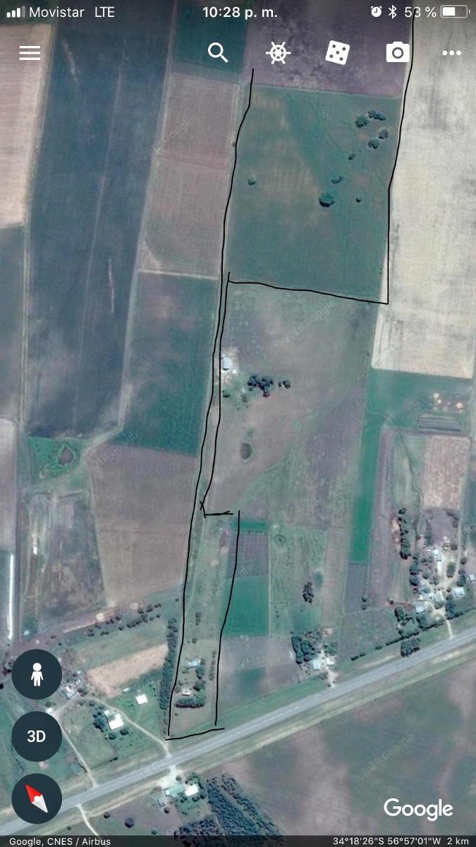 campo  en san josé sobre  ruta 11 km 25, 27hs  con mejoras