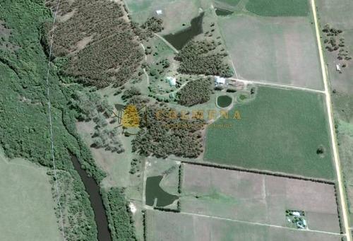 campo en solis muy buena camineria cerca de punta del este y piriapolis. - ref: 505