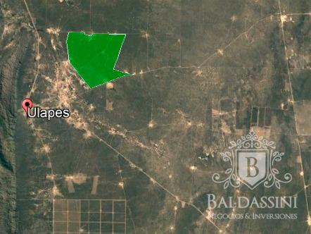 campo ganadero de 3400 hectáreas en ulapes -  a 7 km ruta 79