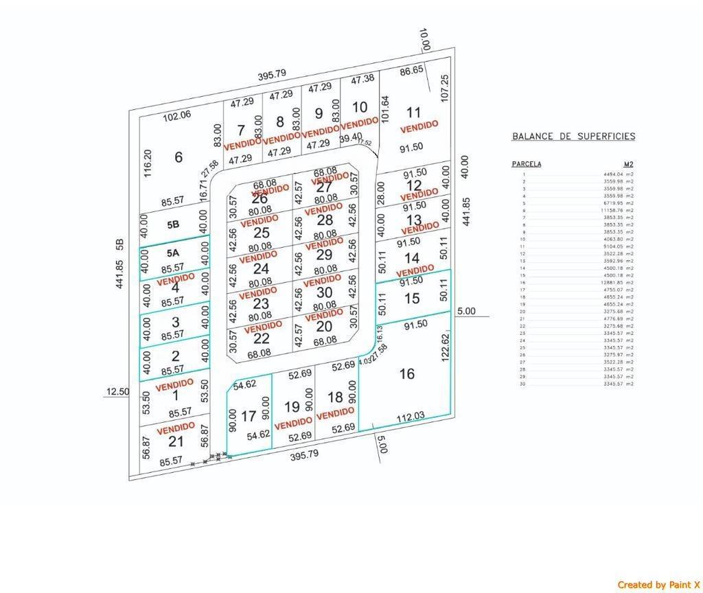 campo industrial a 80 u$s el m2
