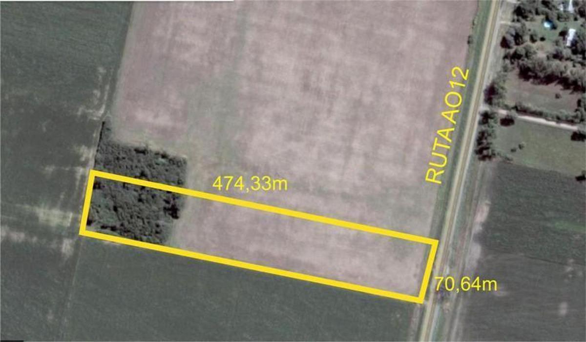 campo roldán sobre a012  3,5 hás