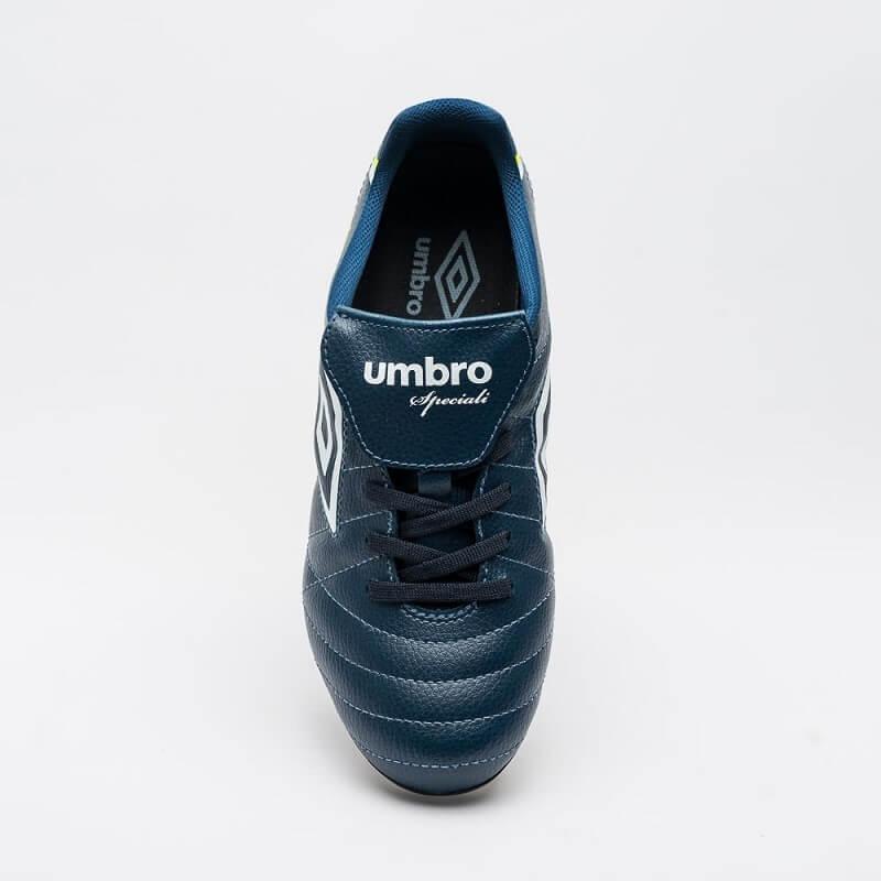 e5595199c3 Chuteira Campo Umbro Speciali 4 8r Trav Alumínio Azul Escuro - R ...