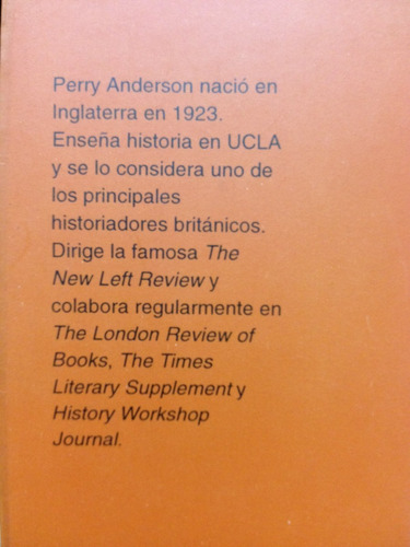 campos de batalla - perry anderson - tercer mundo ed. - 1992