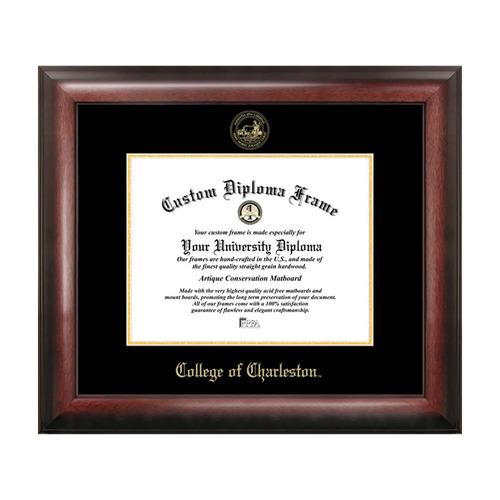 campus imágenes colegio de charleston oro diploma en reliev