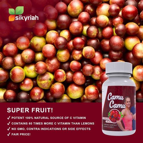 camu camu peruano puro cápsulas vitamina c antioxidant...
