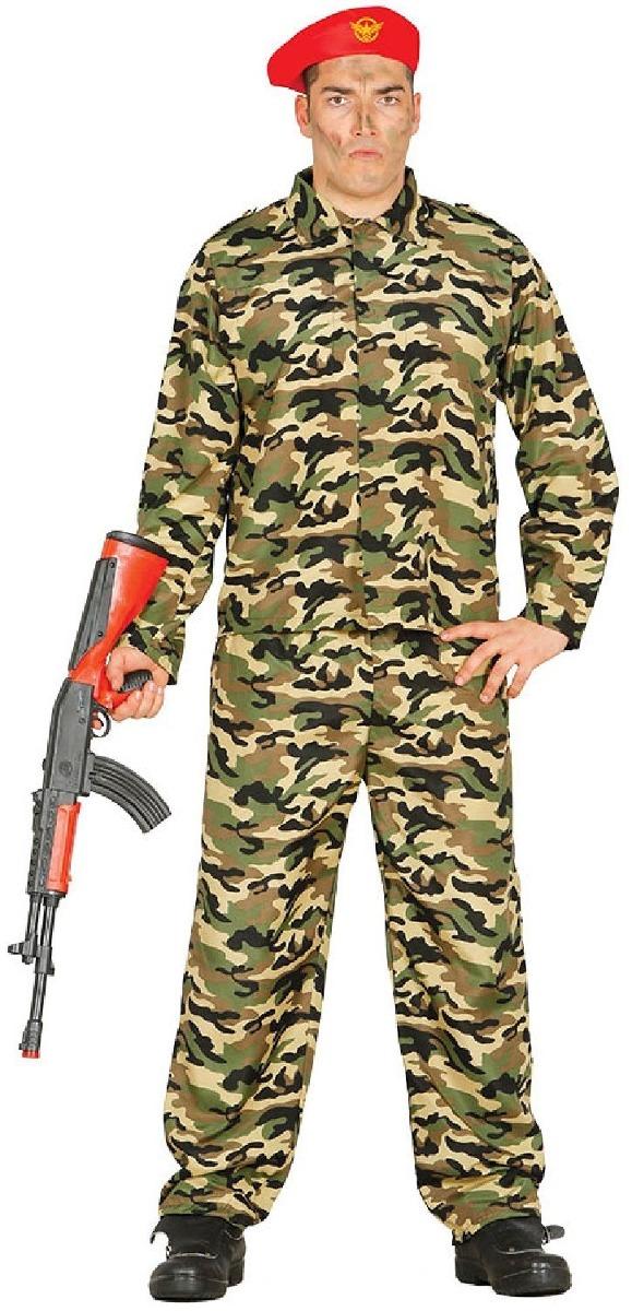 Camuflaje Para Hombre Ejército Soldado Militar Disfraces -   66.990 . cb8abe489d5