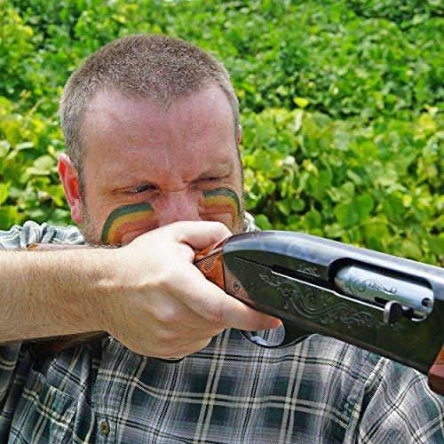 camuflaje pintura para la cara para camuflaje estilo militar