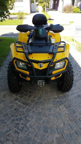 can-am 650c.c biplaza impecable oportunidad.