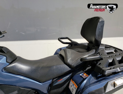 can-am cuatrimoto outlander max 1000r, azul, 2018