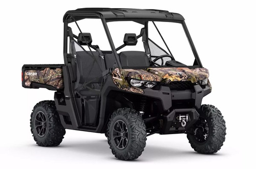 can am defender h10 3 plazas camuflado  en motoswift