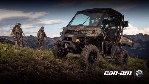 can-am defender hd 10 xt 2017 0km smmotos camo no polaris