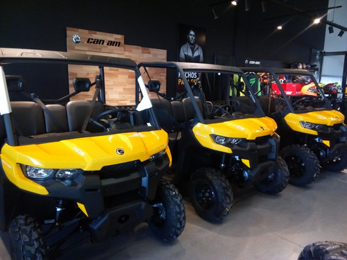 can am defender hd5 0km