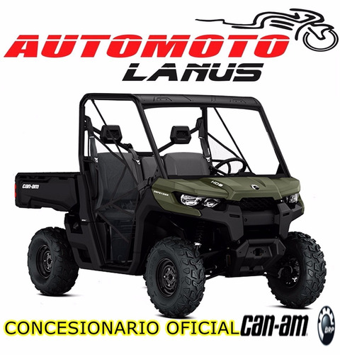 can am defender hd8 0km 2017 automoto lanus