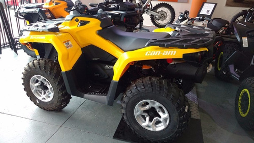 can am dps 570 0km cuatriciclo atv parrillero