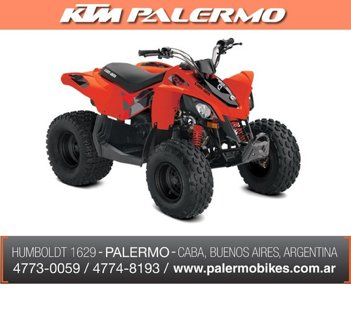 can am ds 90 automatico en stock !