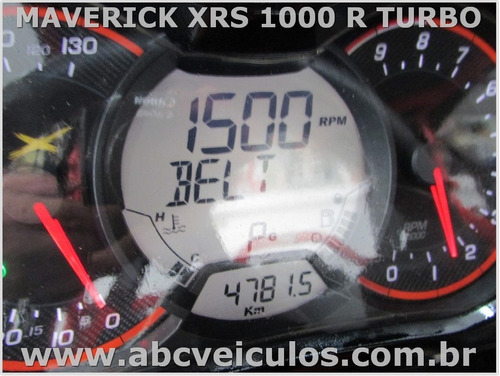 can am maverick xrs 1000 turbo - ano 2016 - com carreta
