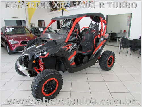 can am maverick xrs 1000 turbo - ano 2016 - com carreta