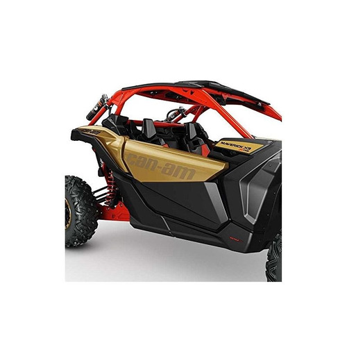 can-am nuevo oem maverick x3 black kit de panel de puerta in