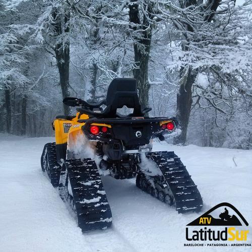 can-am orugas apache para nieve solo canam - atv latitud sur