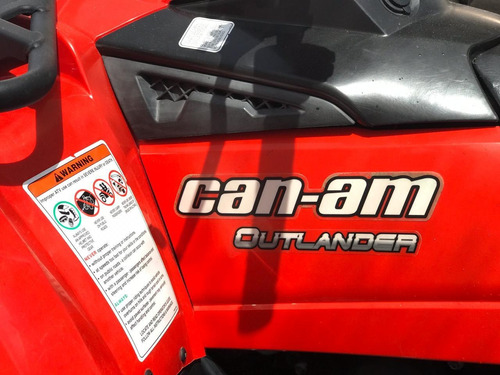 can am outlander 400cc 4x4 2011