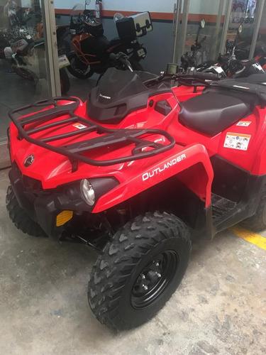 can am  outlander 450 cc 2018 seminueva  4x4