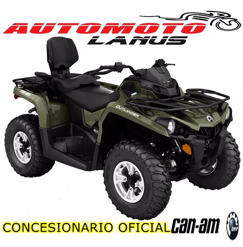 can am outlander 450 l max dps 0km 2017 automoto lanus