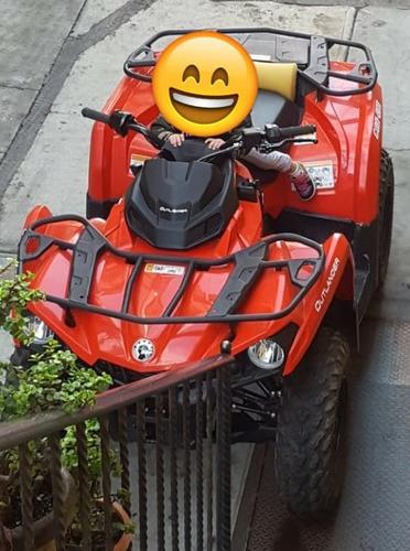 can am  outlander 450cc 2018 seminueva 4x4
