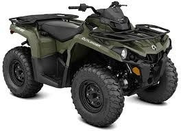 can am outlander 570 dps 2017 50% + 12 cuotas sin interes!