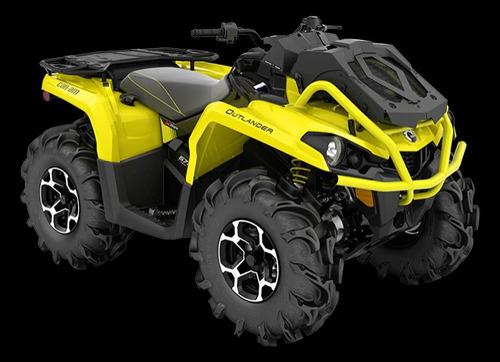 can am outlander 570 xmr quadriciclo