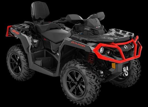 can am outlander 650 xt  max 2019 quadriciclo