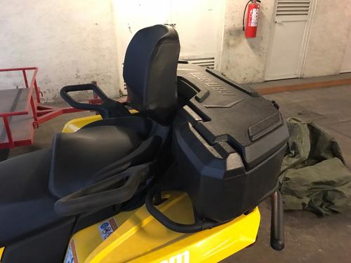 can am outlander l max dps 450 con accesorios + trailer