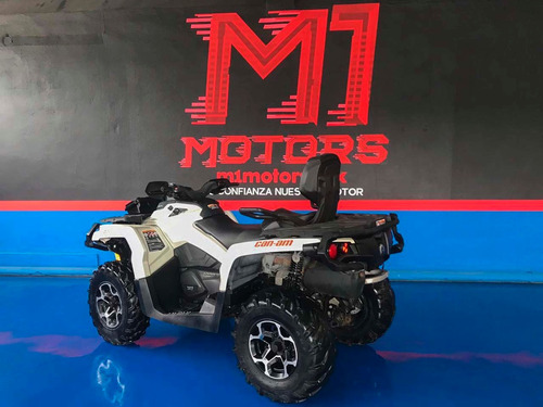 can am outlander max 1000 2015 gris $ 192,000