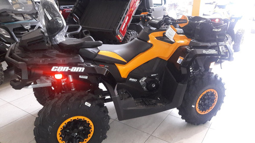 can-am outlander max  850 xt-p nueva linea  2016