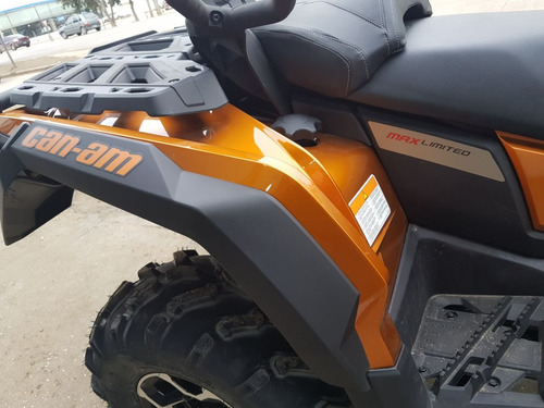 can-am outlander max ltd 1000 atv 2016 0km no honda smmotos