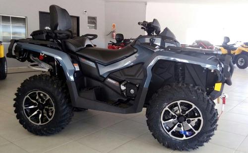 can am - quadriciclo 1000 max limited. 2017/2017
