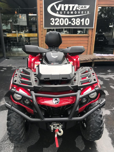 can - am quadriciclo outlander 650 max xt. 2019