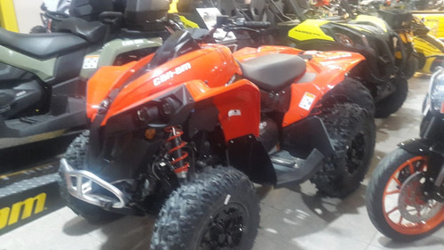 can-am renegade 570 2017 0km 50%+12 ctas s/interes