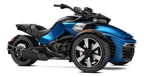 can am spyder f3 s 1330 azul 0km 2017 50%+12ctas s/in