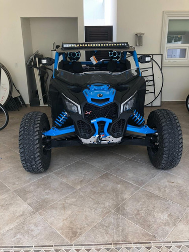 can-am xp turbo 2018 con equipo