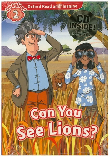 can you see lions 2 read & image con @audio - oxford
