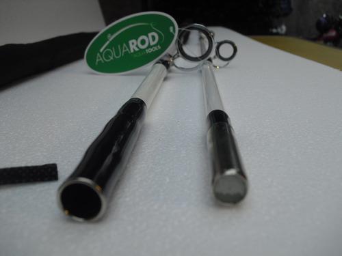 caña 2.40 gran resistencia en fibra maciza en 2 tramos